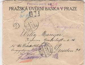 1924: Prag nach Dresden