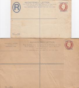 Registered Letter, unused, Piastre, Paras
