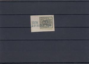Hannover, gestempelt auf Briefausschnitt