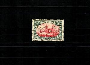 Samoa: MiNr. 19, Stempel Apia 1906, BPP Attest