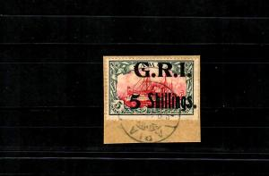 Samoa: MiNr. 13, Stempel Apia auf Briefstück