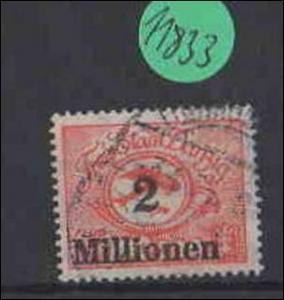 Danzig  gestempelt    MiNr. 180              Stempel geprüft FALSCH