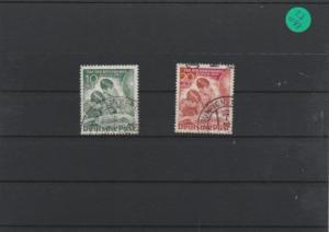 Berlin    gestempelt        MiNr. 80-81