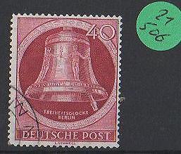 Berlin gestempelt   MiNr. 86