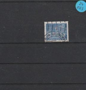 Berlin gestempelt  MiNr. 149