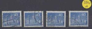Berlin gestempelt  4x  MiNr. 149