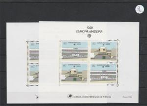 Portugal    Madeira  Block   postfrisch    2x MiNr. Block 11