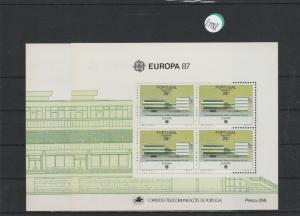 Portugal    Madeira  Block   postfrisch    2x MiNr. Block 8