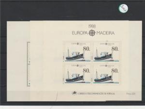 Portugal    Madeira  Block   postfrisch    3x MiNr. Block 9