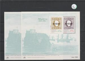 Portugal    Madeira  Block   postfrisch    2x MiNr. Block 1