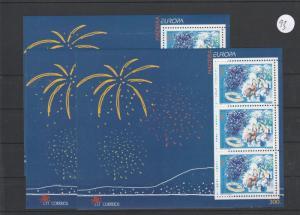 Portugal   Madeira   Block  postfrisch   3x MiNr. Block 17