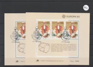Portugal    Azoren    Block gestempelt     2x MiNr. Block 6