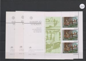 Portugal    Madeira     Block   postfrisch     3x MiNr. Block 3
