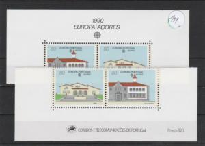 Portugal    Azoren     postfrisch   2x  MiNr. 409-410