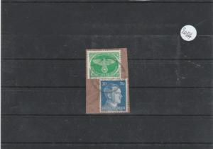 Deutsches Reich Luftfeldpost     Posten/Lot    gestempelt MiNr. 4