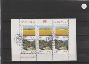 Portugal    Block   gestempelt    MiNr. Block 20