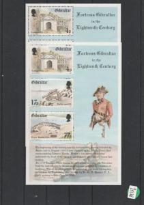 Gibraltar        postfrisch **   2x  MiNr. Block 8