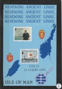 Isle of Man        postfrisch  **   4x  MiNr. Block 4