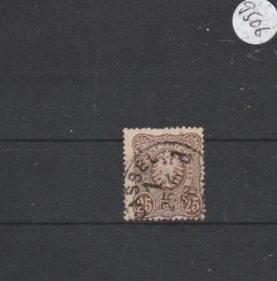 Deutsches Reich  gestempelt    MiNr. 35 b        geprüft