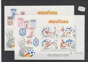 Spanien     postfrisch **      MiNr. Block 25-26