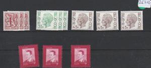 Belgien       Posten/Lot   postfrisch **       3x  MiNr. 2035-2038