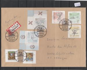 BRD    Großbrief    mit  MiNr. 1948-1952