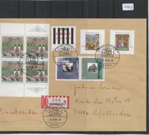 BRD    Großbrief    mit  MiNr. 1794-1795