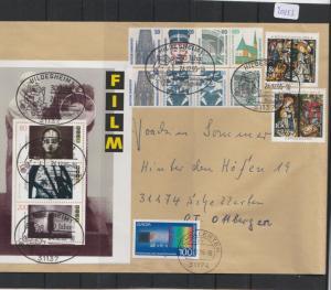 BRD    Großbrief    mit  MiNr. Bl. 4,95