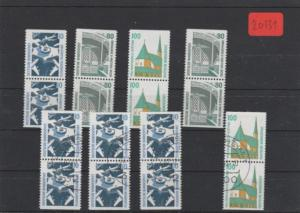 BRD  Posten/Lot  1x  postfrisch  und 1x gestempelt  aus  H-Bl.-MiNr. 31   C/D