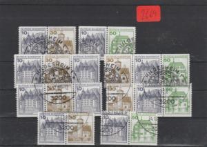 BRD     Posten/Lot   gestempelt    aus  MiNr. W61 - W62    und andere