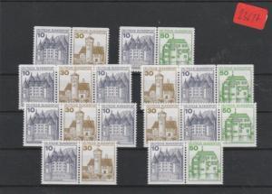 BRD            Posten/Lot    postfrisch **    aus  MiNr. W61 - W62    und andere