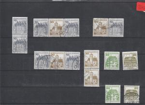 BRD  Deutsche Post    Posten/Lot     gestempelt    aus  H-Bl.-MiNr. 27