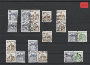 BRD  Deutsche Post    Posten/Lot     gestempelt    aus  H-Bl.-MiNr. 28