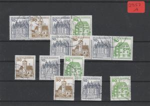 BRD  Deutsche Post         gestempelt    aus  H-Bl.-MiNr. 27