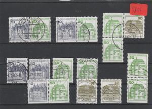 BRD  Deutsche Post     Posten    gestempelt    aus  H-Bl.-MiNr. 27