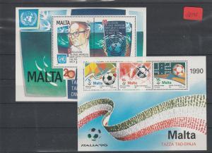 Malta    postfrisch**      MiNr. Block 10-11