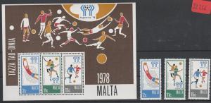 Malta    postfrisch**      MiNr. Block 5    und Einzelmarken