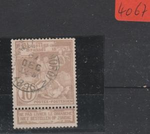 Belgien    gestempelt    MiNr. 65