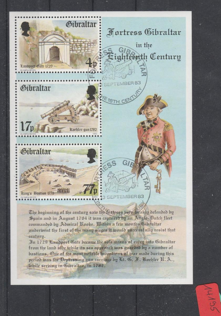 Gibraltar    gestempelt   MiNr. Block 8 0