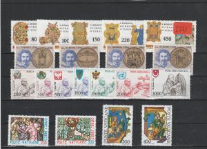 Vatikan   Poste Vaticano  postfrisch**     Jahrgang 1980  MiNr. 759-778