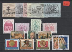 Vatikan   Poste Vaticano  postfrisch**     Jahrgang 1975  MiNr. 657-674