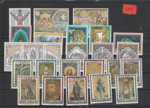 Vatikan   Poste Vaticano  postfrisch**     Jahrgang 1974  MiNr. 632-656