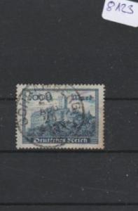 Deutsches Reich     gestempelt    MiNr. 261 b      geprüft INFLA