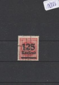 Deutsches Reich     gestempelt    MiNr. 291 b        geprüft INFLA