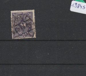 Deutsches Reich     gestempelt    MiNr. 230 I/I      geprüft Peschl