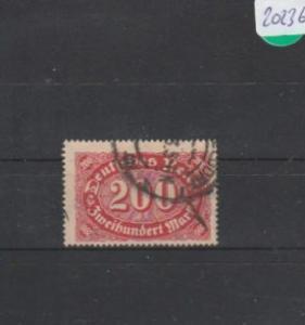 Deutsches Reich     gestempelt    MiNr. 248 c        geprüft  INFLA