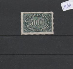 Deutsches Reich     gestempelt    MiNr. 256 d        geprüft  Teschner  BPP