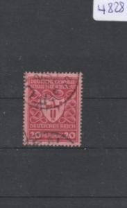 Deutsches Reich     gestempelt    MiNr. 204 b        geprüft INFLA