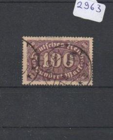 Deutsches Reich     gestempelt    MiNr. 219 I         geprüft INFLA   Peschl