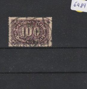Deutsches Reich     gestempelt    MiNr. 219 II         geprüft INFLA